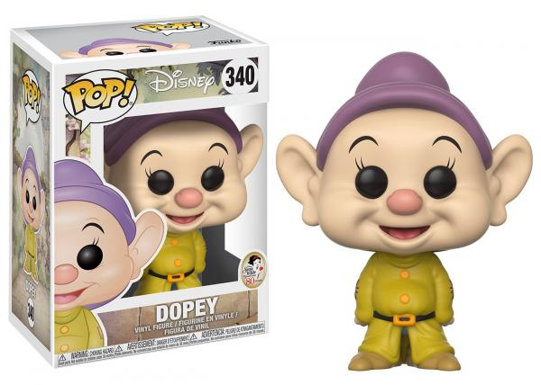 Walt Disney Snow White & Seven Dwarfs Dopey Vinyl POP! Figure Toy #340 FUNKO NEW picture