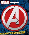Marvel Comics The Avengers A Logo Image Car Magnet NEW UNUSED