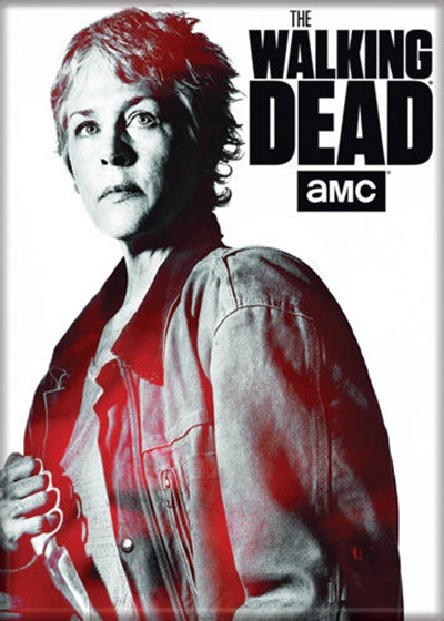 The Walking Dead TV Series Standing Carol Figure Photo Refrigerator Magnet NEW
