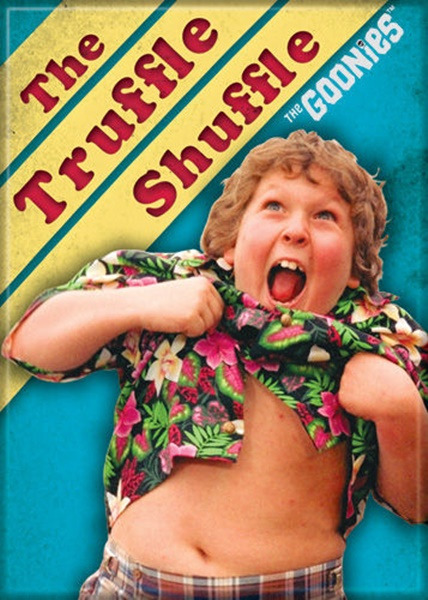 The Goonies Movie Chunk The Truffle Shuffle Photo Refrigerator Magnet NEW UNUSED