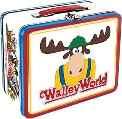 National Lampoon's Vacation Movie Walley World Large Carry All Tin Tote Lunchbox