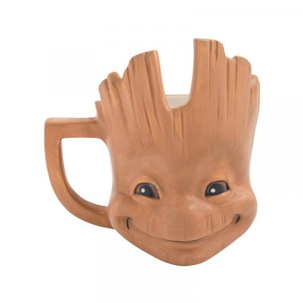 Marvel Guardians of the Galaxy Baby Groot 20 oz Sculpted Ceramic Mug NEW UNUSED