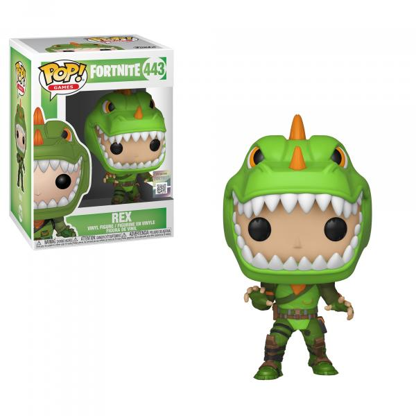 Fortnite Video Game Rex POP! Vinyl Figure #443 FUNKO NEW MIB