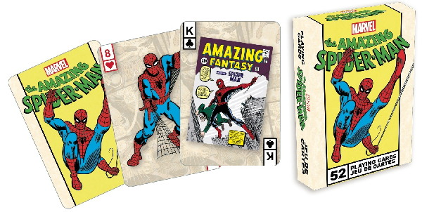 The Amazing Spider-Man Comic Art Illustrated Poker Playing Cards Deck NEW SEALED