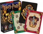 Harry Potter Hogwarts House Themed Illustrated Poker Size Playing Cards, NEW