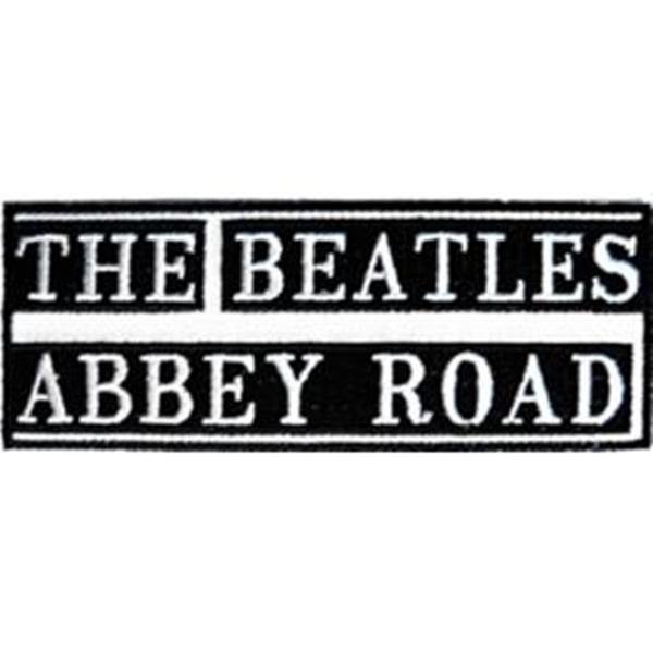The Beatles Abbey Road Name Logo Embroidered Patch NEW UNUSED