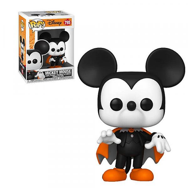Walt Disney Halloween Spooky Mickey Mouse Vinyl POP! Figure Toy #795 FUNKO MIB