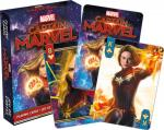 Captain Marvel Movie Photo Illustrated Poker Playing Cards Deck NEW SEALED