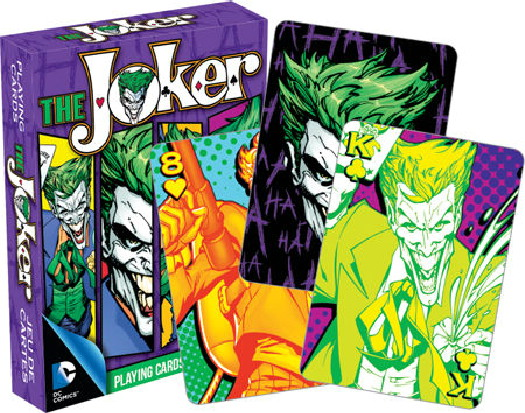 DC Comics Batman The Joker Comic Art Illustrated Playing Cards 52 Images SEALED