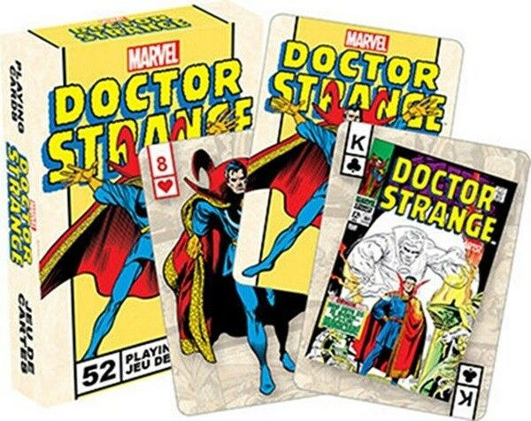 Marvel Comics Doctor Strange Retro Playing Cards Regular Deck, NEW SEALED
