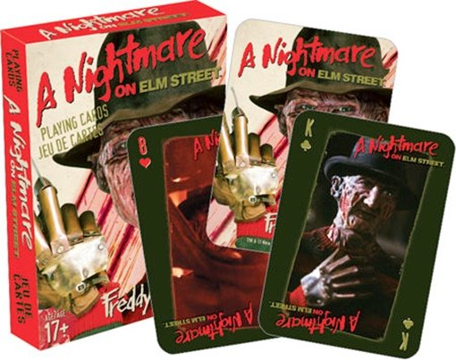 A Nightmare On Elm Street Movie Photo Illustrated Playing Cards, NEW SEALED picture