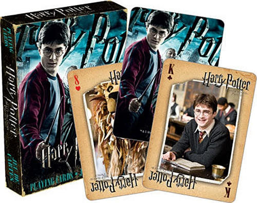 Harry Potter and the Half-Blood Prince Movie Illustrated Playing Cards, NEW