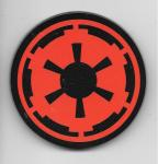 Star Wars Imperial Empire Cog Red Logo Chunky 3-D Die-Cut Magnet NEW UNUSED