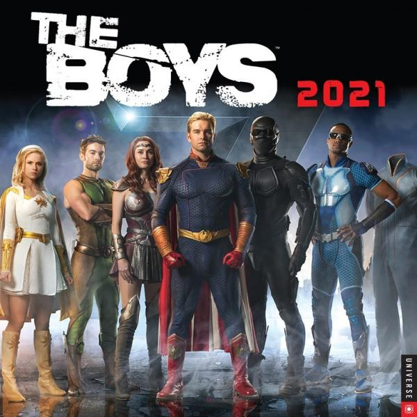 The Boys TV Series 12 Month 2021 Photo Wall Calendar NEW SEALED