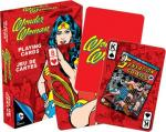 DC Comics Wonder Woman Retro Art Illustrated Poker Playing Cards Deck NEW SEALED