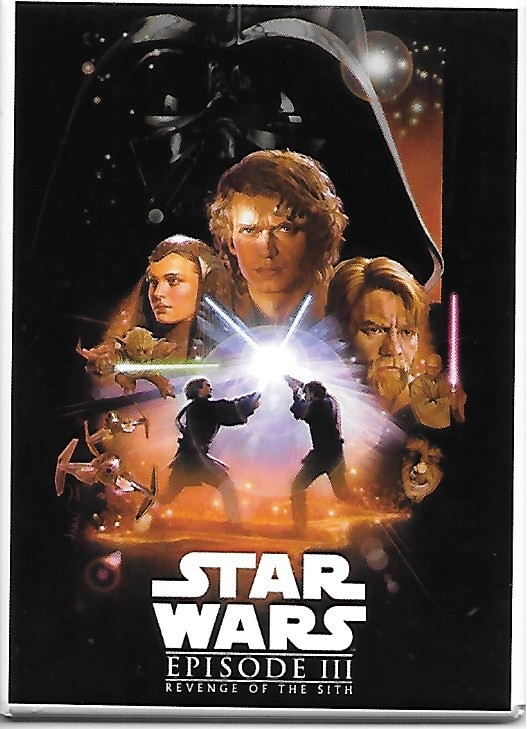 Star Wars Episode III Revenge of the Sith Movie Poster Image Refrigerator Magnet picture