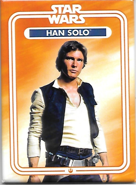 Star Wars Han Solo Standing Photo Image Refrigerator Magnet NEW UNUSED picture