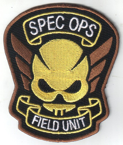Resident Evil Raccoon City SPEC OPS Field Unit Embroidered Patch,NEW UNSUSED
