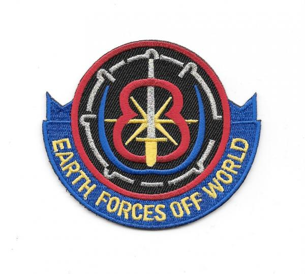 Babylon 5 TV Series Earth Forces Off World Embroidered Patch NEW UNUSED