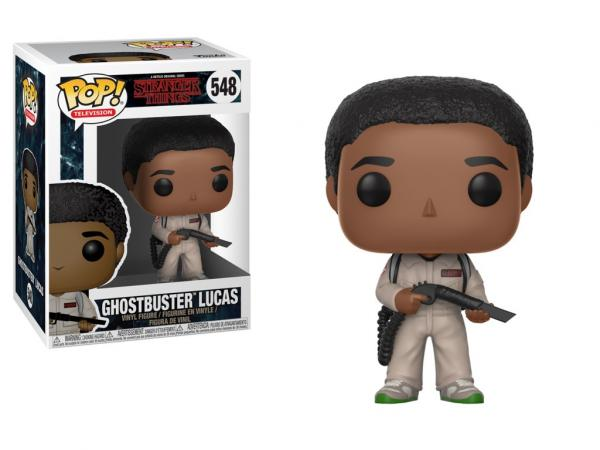 Stranger Things 2nd Season Lucas Ghostbusters POP! Figure Toy #548 FUNKO NEW MIB