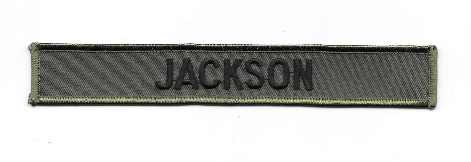 Stargate SG-1 TV Series Jackson Uniform Name Chest Embroidered Patch NEW UNUSED