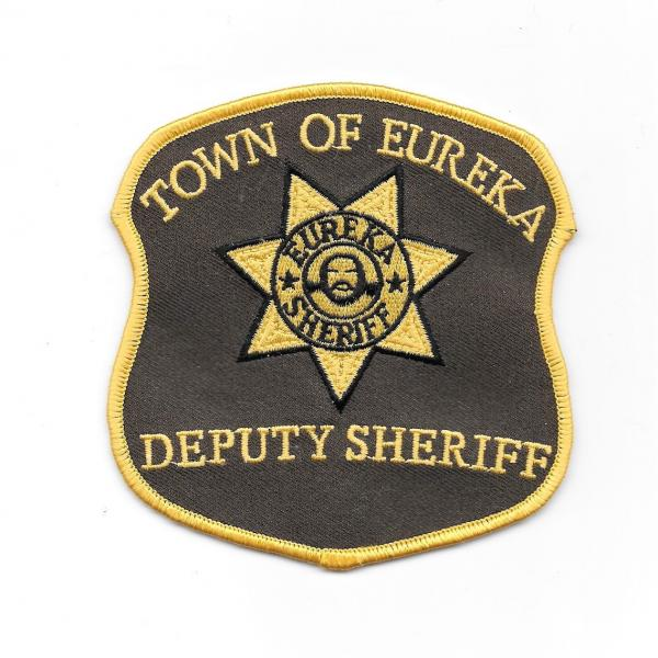 Eureka TV Series Deputy Sheriff Logo Shoulder Patch, NEW UNUSED