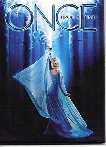 Once Upon A Time TV Series Frozen Episode Image Refrigerator Magnet, NEW UNUSED