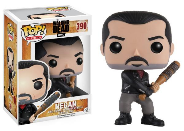 The Walking Dead TV Series Negan with Lucille Vinyl POP! Figure Toy #390 NEW MIB picture