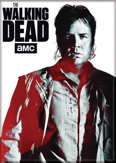 The Walking Dead TV Series Eugene Standing Figure Photo Refrigerator Magnet NEW