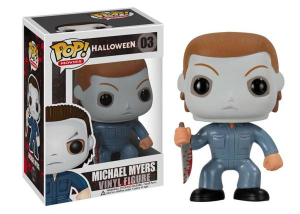 Halloween Movie Michael Myers with Knife Vinyl POP! Figure Toy #03 FUNKO NEW MIB