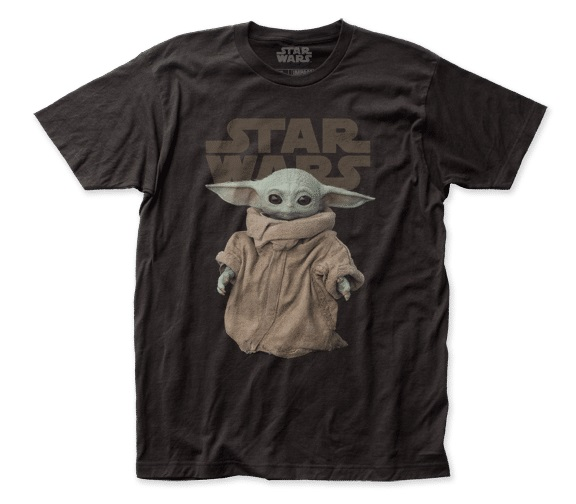Star Wars The Mandalorian The Child Baby Yoda Figure Adult T-Shirt NEW UNWORN M picture