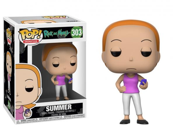 Rick and Morty Summer with Phone POP! Vinyl Figure #303 FUNKO NEW UNUSED MIB picture