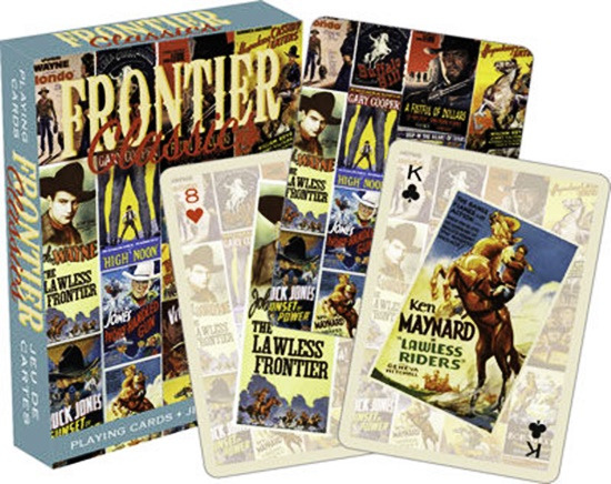 Frontier Classics Movie Poster Images Illustrated Playing Cards, NEW SEALED picture