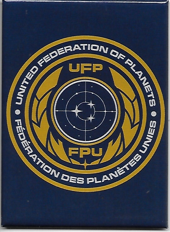 Star Trek Discovery TV United Federation of Planets Logo Refrigerator Magnet NEW picture