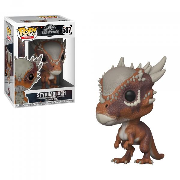 Jurassic World 2 Movie Stygimoloch Vinyl POP! Figure Toy #587 FUNKO NEW MIB picture