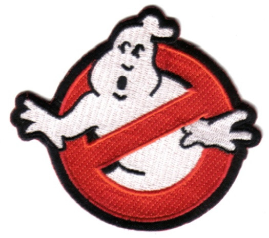 Ghostbusters Movie No Ghost Logo Embroidered Shoulder Patch NEW UNUSED