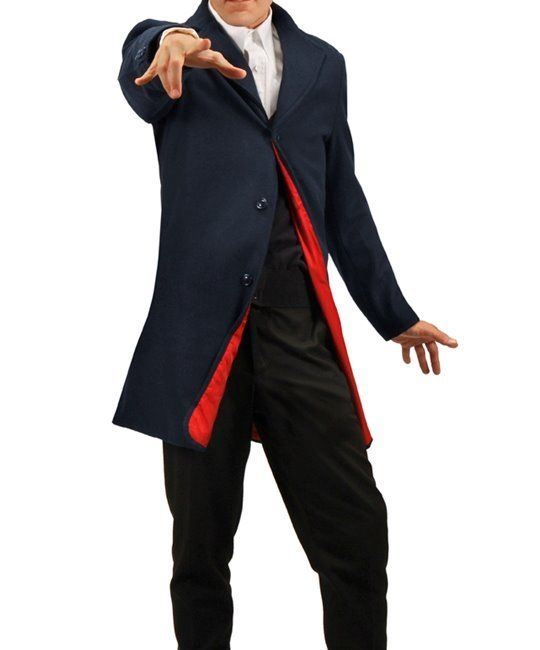 Twelfth 12th Doctor Who Peter Capaldi Mens Jacket Licensed Replica Size XXL NEW picture