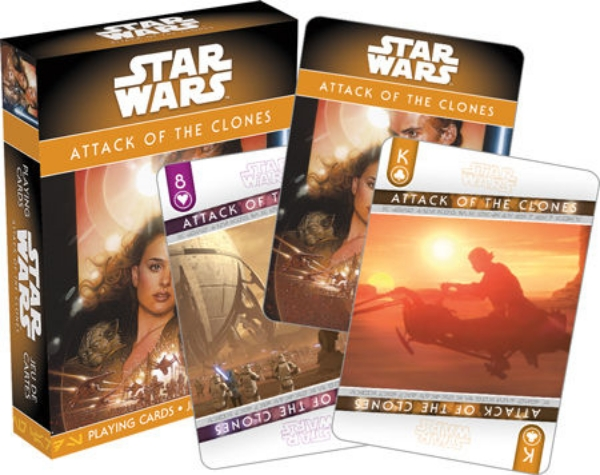 Star Wars Episode II: Attack of the Clones Photo Illustrated Playing Cards Deck picture