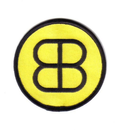 Buckaroo Banzai Movie Blue Blaze Irregulars Logo Embroidered Patch, NEW UNUSED picture