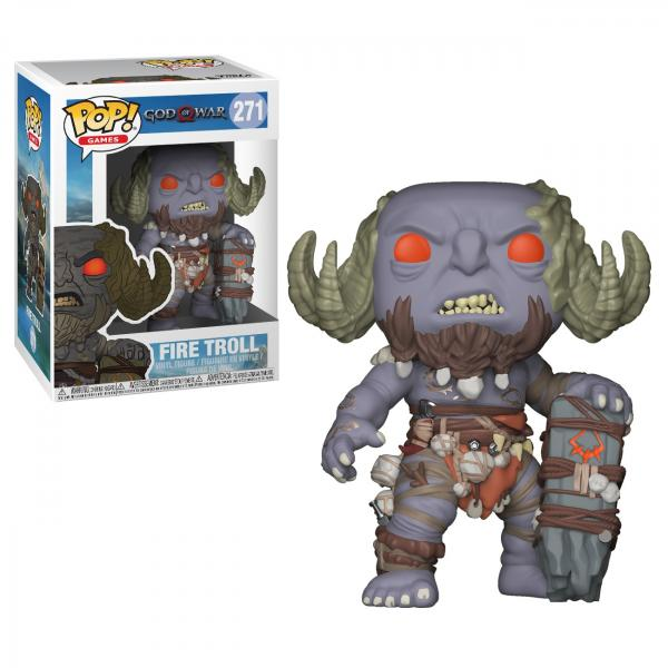 God of War Video Game Fire Troll Vinyl POP! Figure Toy #271 FUNKO NEW SEALED MIB picture