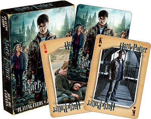 Harry Potter and the Deathly Hallows Part 2 Movie Illustrated Playing Cards, NEW picture