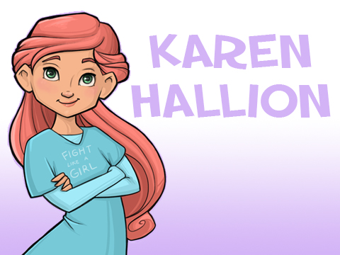 Karen Hallion Illustration
