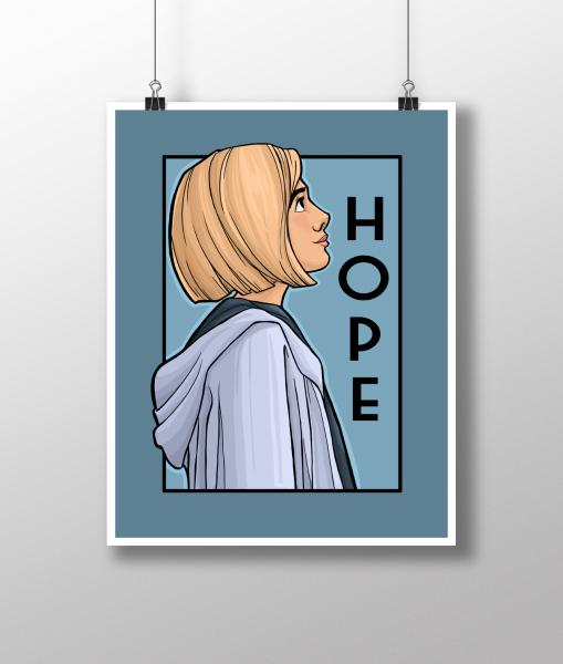 Hope She Series Medium Print