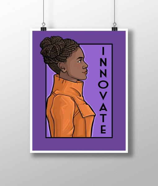 Innovate She Series Medium Print