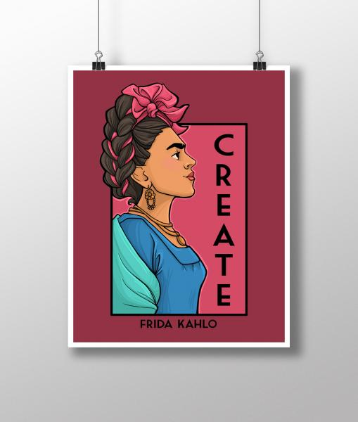 Create She Series Medium Print