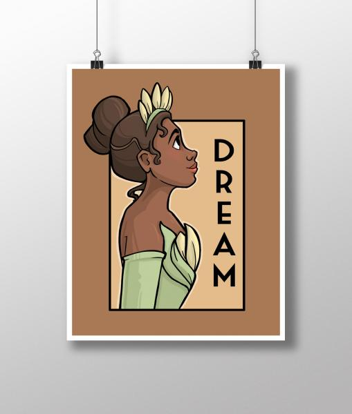 Dream She Series Medium Print