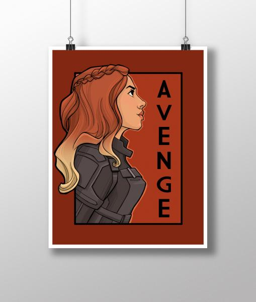 Avenge - She Series Medium Print