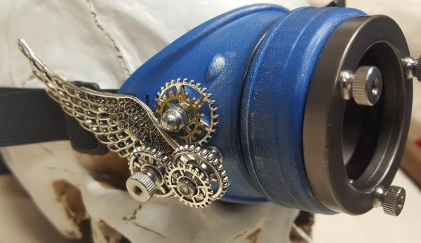 Winged Steampunk Engineer Mono-Goggle /Eye Patch picture