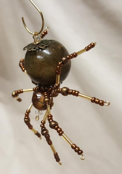 Steampunk Beaded Barn Spider