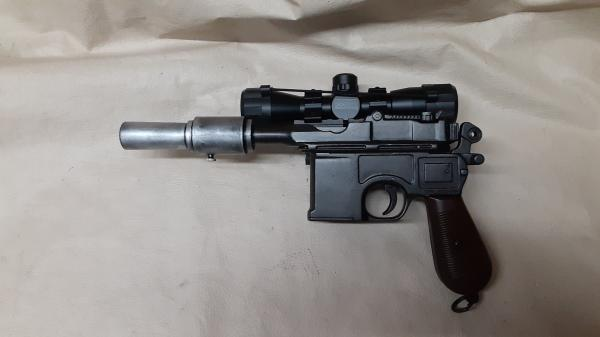 DL-46 Blaster Inspired By Han Solo's DL-44 picture